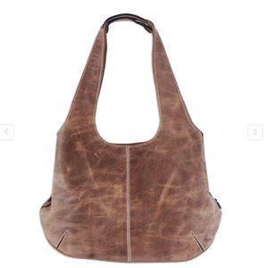 Novica Hobo Urban Caramel Leather Handbag